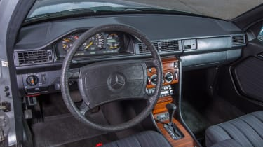 70 years of Mercedes E-Class - W124 interior