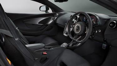 570S track pack interior