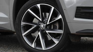 skoda kodiaq alloy wheel