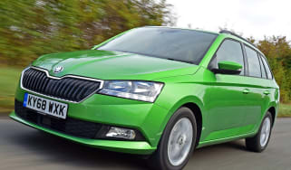 Skoda Fabia Estate - Front Tracking