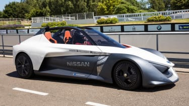 Nissan BladeGlider review - front