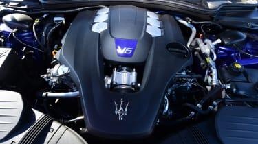 Maserati Ghibli facelift - engine