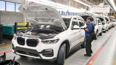 BMW SUVs feature - BMW X3 engine final checks