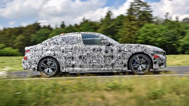 New BMW 3 Series pre-production review - profile