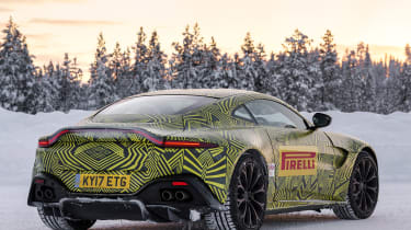 Aston Martin Vantage prototype - rear static