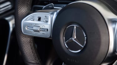 Mercedes A-Class Saloon - steering wheel detail