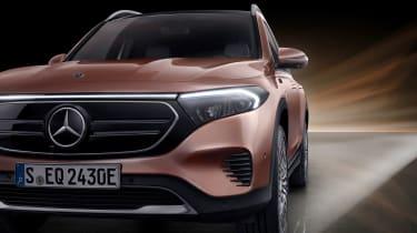 Mercedes EQB - front detail