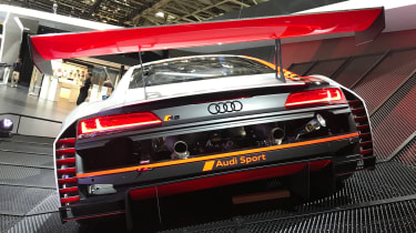 Audi R8 LMS GT3 - Paris full rear