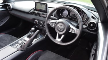 Mazda MX-5 BBR GTi Turbo - dash