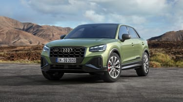 Audi SQ2 - Paris front