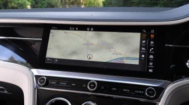 Bentley Continental GT - navigation