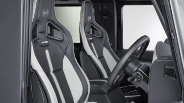 Overfinch Defender 40th Anniversary seats