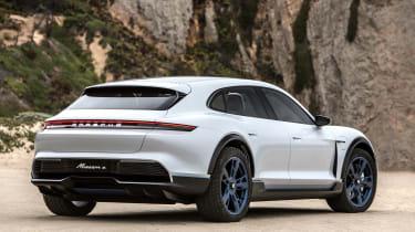 Porsche Mission E Cross Turimso - rear static