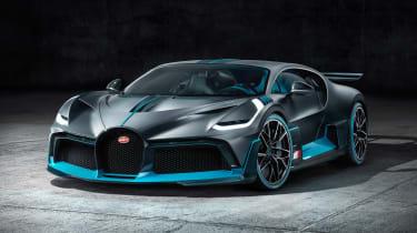 Bugatti Divo - front static