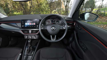Skoda Scala Long termer - interior