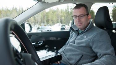 Volvo XC90 first ride interior
