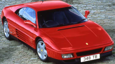 Ferrari 348 top quarter