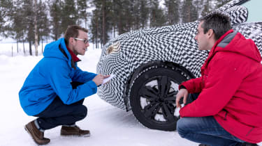 Peugeot 3008 Advanced Grip Control test tyre