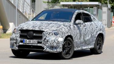Mercedes GLE - spyshot 3