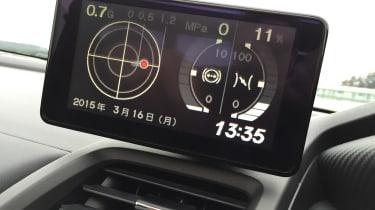 Honda S660 screen