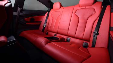 BMW M4 - back seats