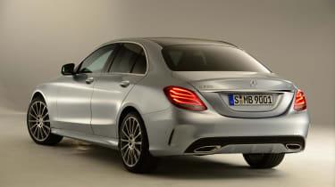 Mercedes C-Class 2014 studio rear
