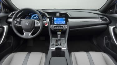 Honda Civic Coupe revealed - dash