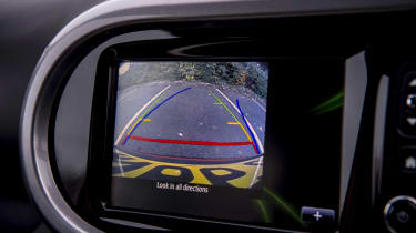 Renault Twingo GT - reversing camera