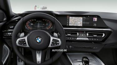 New BMW Z4 iDrive
