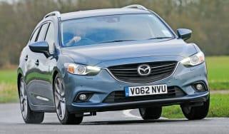 Mazda 6 Tourer front cornering