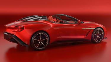 Aston Martin Vanquish Zagato Speedster - rear