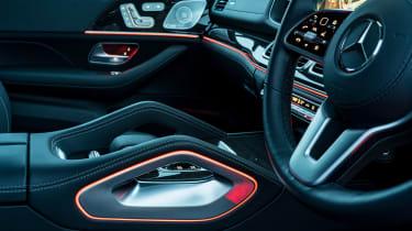 Mercedes GLS - interior