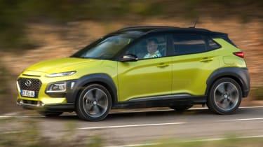 Hyundai Kona Premium SE 2017 - side profile