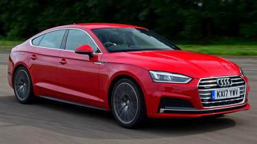 Twin test - Audi A5 - driver side action
