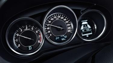 Mazda 6 dials