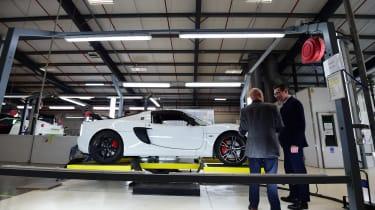 Best of British - Lotus - Evora side factory