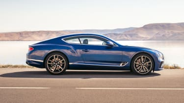 Bentley Continental GT - side static