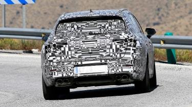 Cupra Leon ST - spy rear