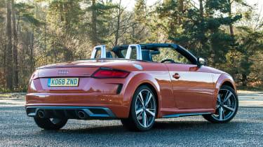 Audi TT Roadster - rear static