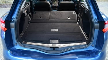 Renault Megane Sport Tourer - boot seats down