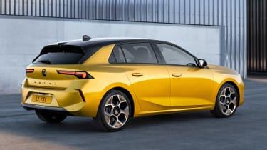 Vauxhall Astra - rear static