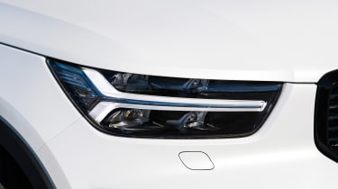Volvo XC40 Recharge T5 long termer - first report front light