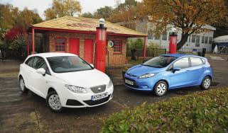 SEAT Ibiza Ecomotive Vs. Ford Firsta ECOnetic