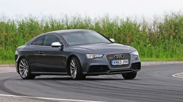 Audi RS5 - cornering shot