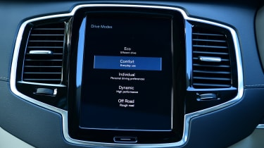 Volvo XC90 -  screen