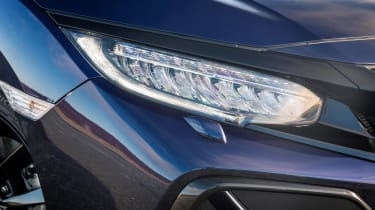 New Honda Civic Sport Line headlight