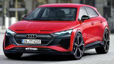 Audi eTTron render - front