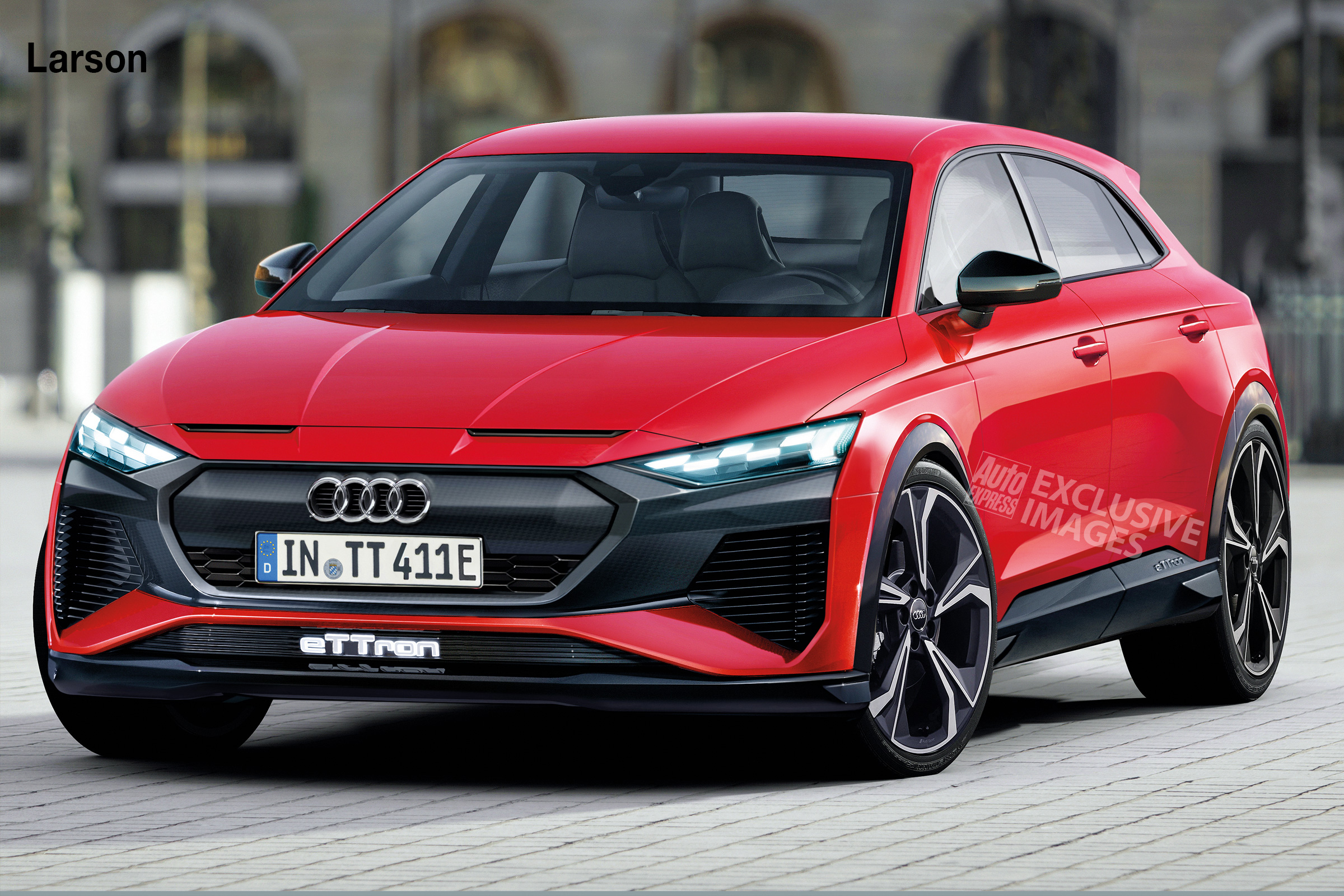 Audi Tt Set To Morph Into All Electric Crossover Auto Express