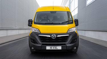 Vauxhall Movano-e - full front