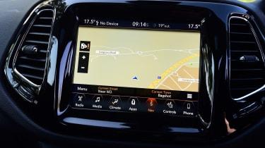 Jeep Compass - sat-nav